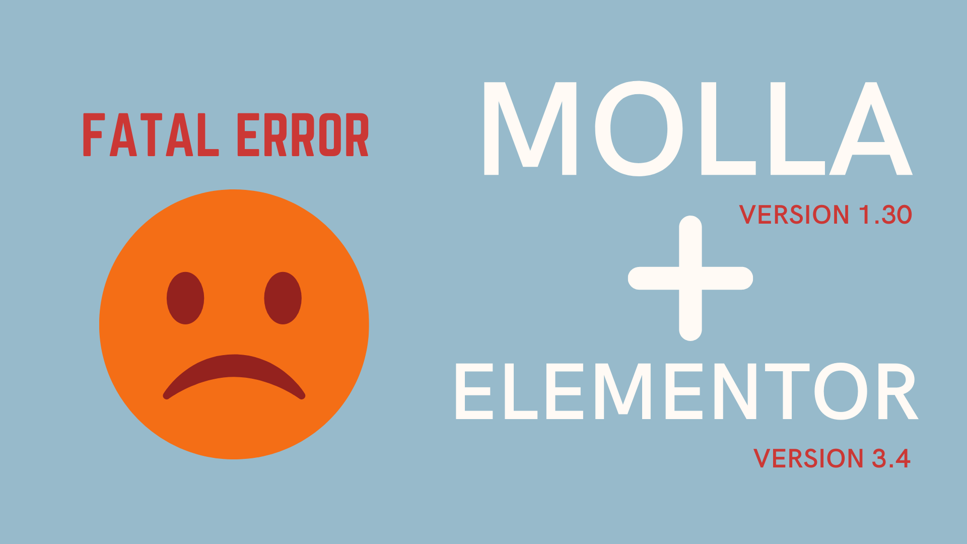 """Molla 1.3.0 and Elementor 3.4 Incompatibility problem """"Fatal error: Access level to Molla_Element_Section::get_html_tag() """""""