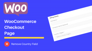 WooCommerce default country on the Checkout page