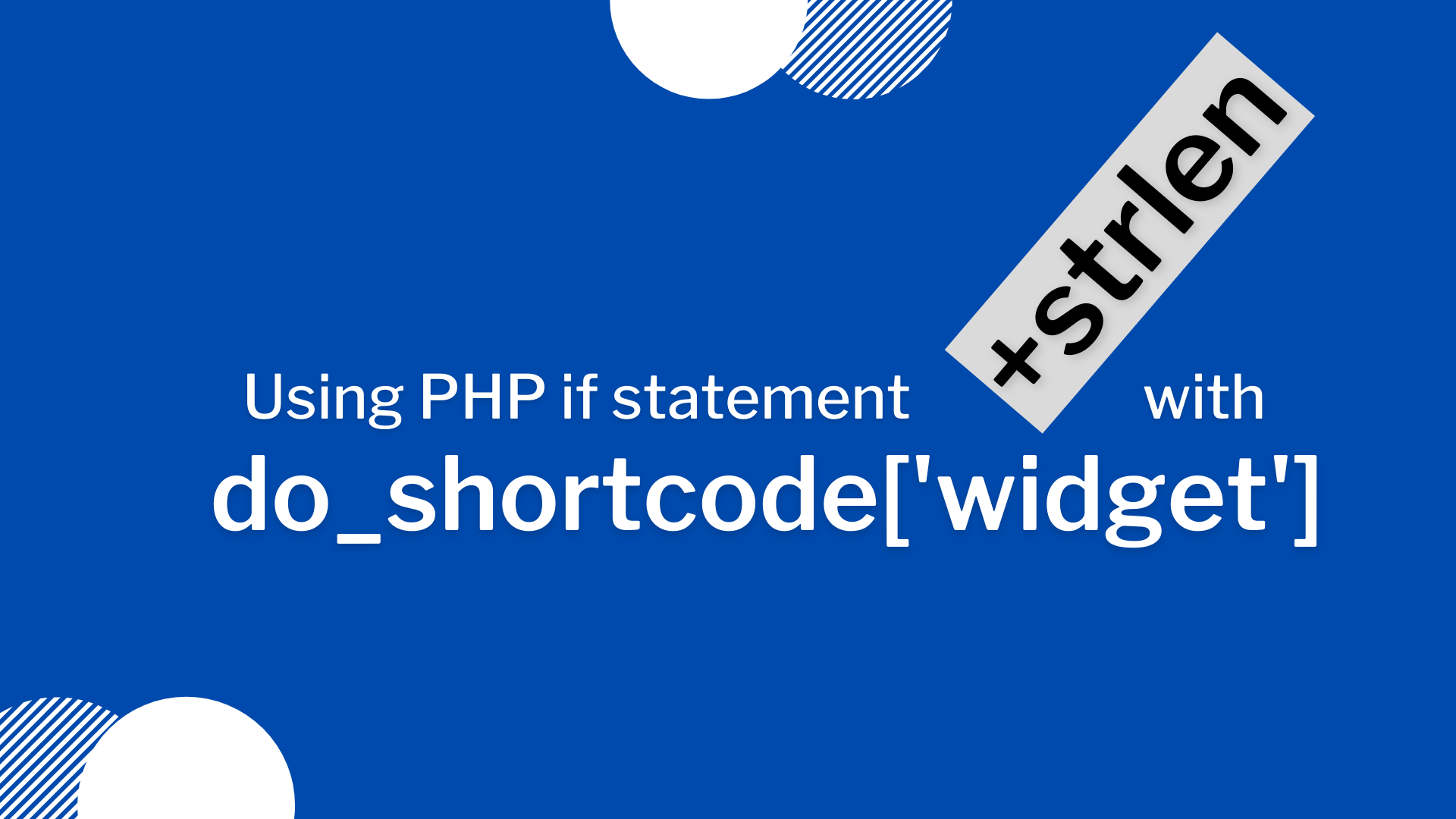 WordPress do_shortcode